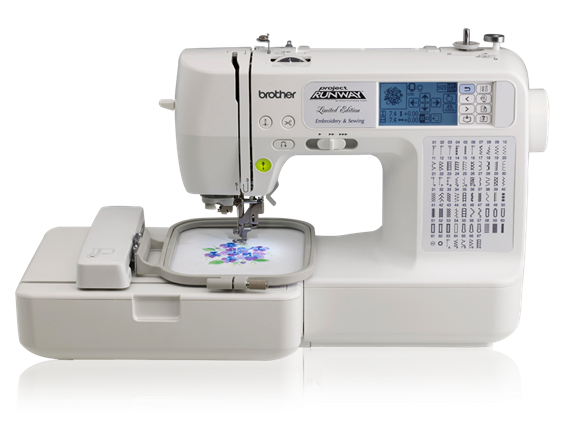 The Brother LB6800PRW Computerized Embroidery and Sewing Machine